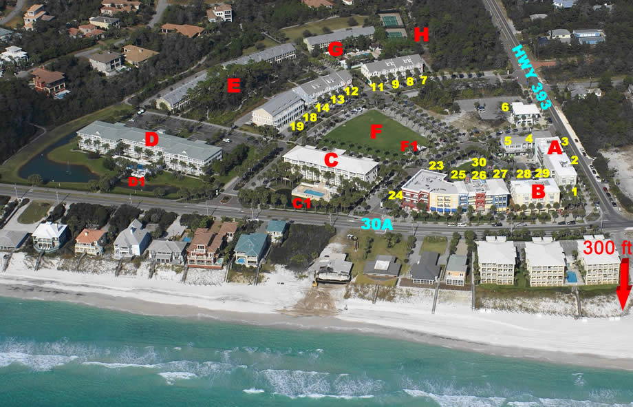 A Wave From It All Gulf Place Caribbean 214 Santa Rosa Beach Dolphin Developers