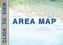 Map of Northwest Florida's Gulf Coast